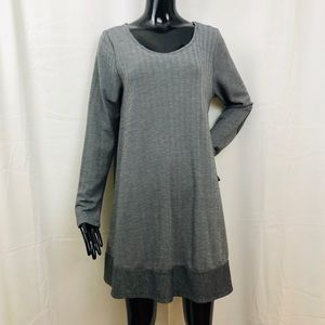 Puella Herringbone Elbow Patch Swing Tunic Large